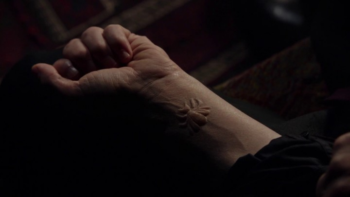 Once Upon a Time podcast 5x11 Swan Song - Rumplestiltskin Mark of Cheron