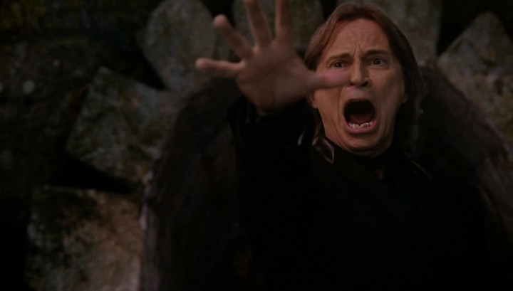 Once Upon a Time 5x14 Devil's Due - Rumplestiltskin throws Milah into the River of Lost Souls