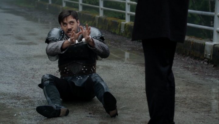 Once Upon a Time 5x21 Last Rites - Arthur and Hades