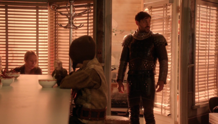 Once Upon a Time 5x21 Last Rites - Arthur enters Granny's in the Underworld