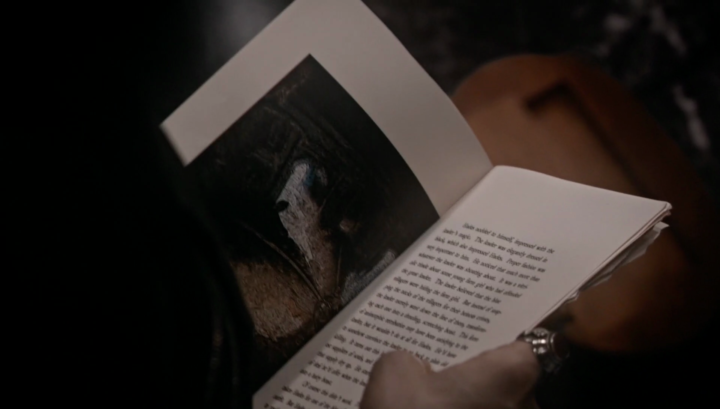Once Upon a Time 5x21 Last Rites - First page from storybook Hades missing pages
