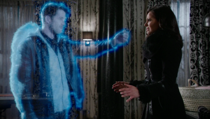 Once Upon a Time podcast 5x21 Last Rites - Hades kills Robin Hood using Olympian Crystal