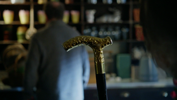 Once Upon a Time 5x21 Last Rites -Rumplestiltskin cane