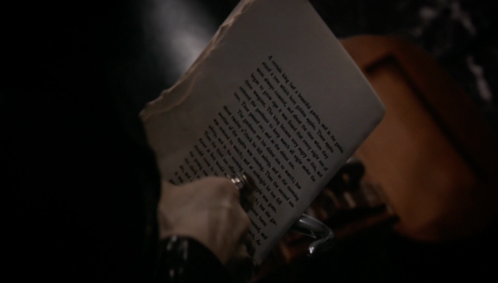 Once Upon a Time 5x21 Last Rites - The Golden Bird story from Hades missing pages