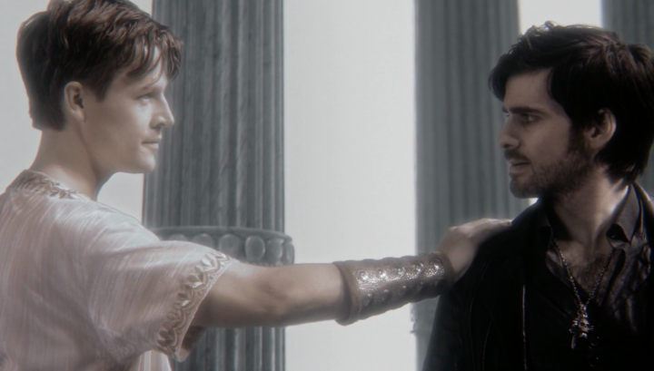 Once Upon a Time 5x21 Last Rites - Zeus and Hook