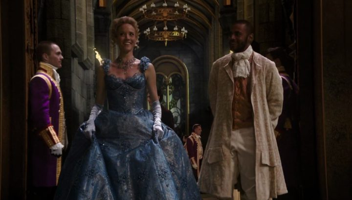 Once Upon a Time 6x03 The Other Shoe - Cinderella and Gus attends Prince Thomas's Royal ball