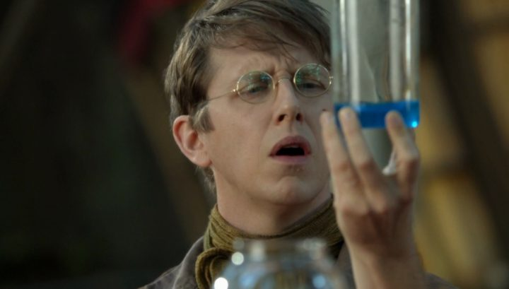 Once Upon a Time 6x03 The Other Shoe - Dr. Jekyll little science experiment