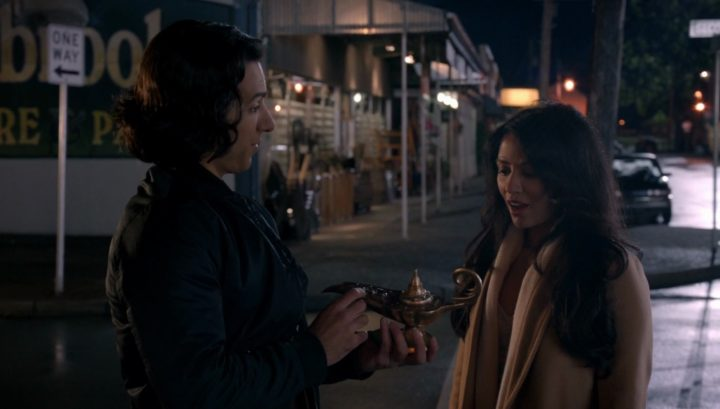 Once Upon a Time 6x08 I'll Be Your Mirror - Aladdin steals magic lamp in Mr. Gold's shop