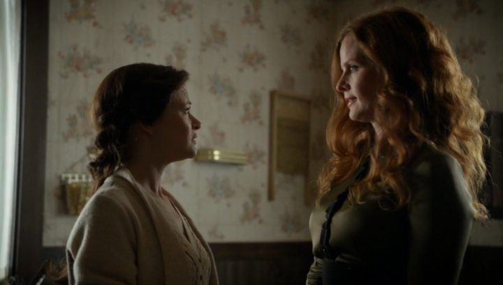 Once Upon a Time 6x08 I'll Be Your Mirror - Belle asks for Zelena's help against Rumplestiltskin