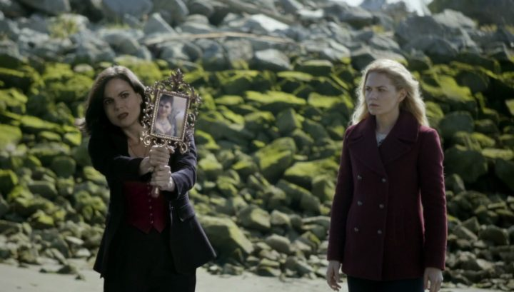 Once Upon a Time 6x08 I'll Be Your Mirror - Regina and Emma tries to trap Evil Queen using Henry as bait