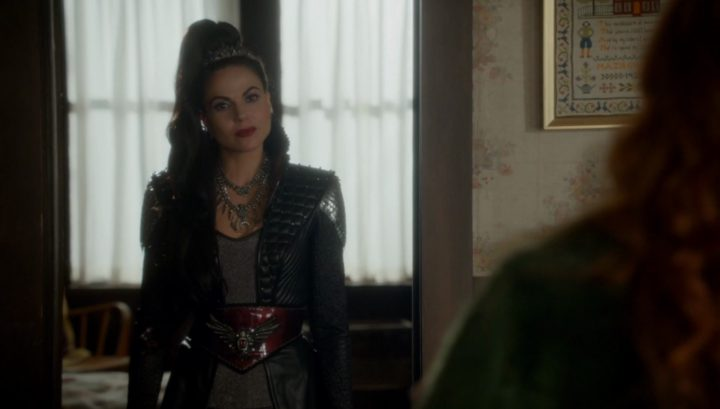Once Upon a Time 6x09 Changelings - Evil Queen visits to kill Zelena
