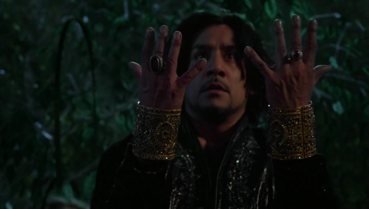 Once Upon a Time 6x09 Changelings - Jafar genie cuff from Once Upon a Time in Wonderland 1x13 And They Lived