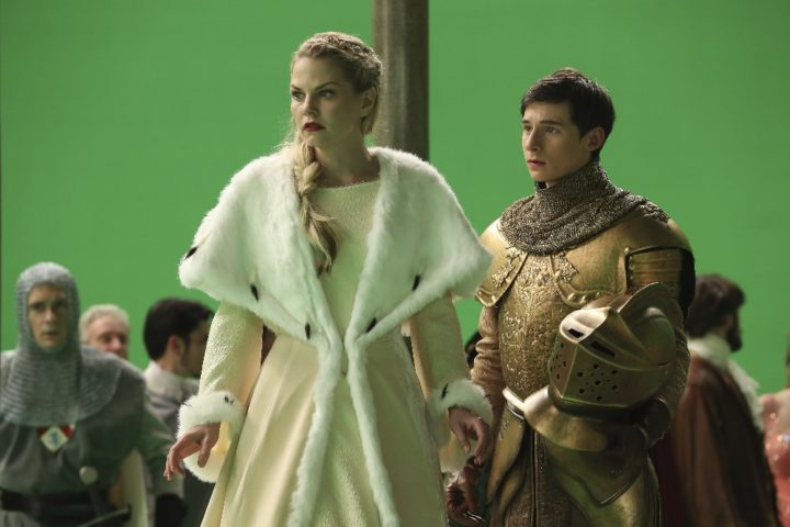 Once Upon a Time podcast 6x10 Wish You Were Here - Princess Emma and Henry in the Wish Realm