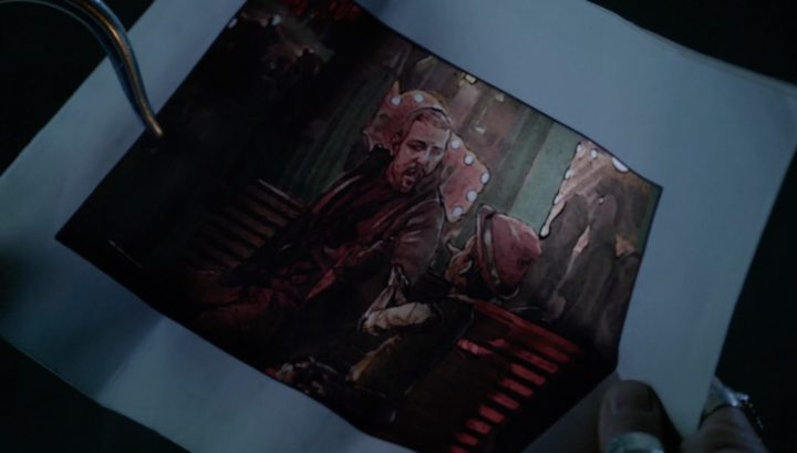 Once Upon a Time 6x12 Murder Most Foul - August gives Hook the Robert and Pinocchio in Pleasure Island page
