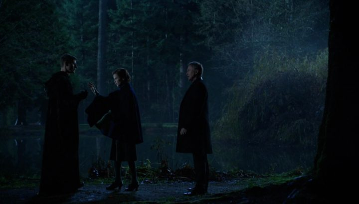 Once Upon a Time 6x13 Ill-Boding Patterns - Gideon and Rumplestiltskin with the Blue Fairy