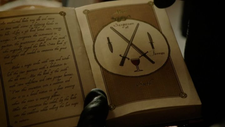 Once Upon a Time 6x13 Ill-Boding Patterns - Rumplestiltskin gives Gideon the spell book