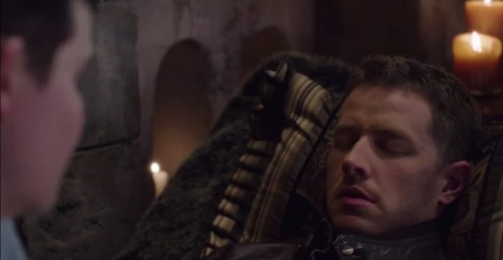Once Upon a Time podcast 6x17 Awake - Snow White and Charming under a sleeping curse at Regina's vault