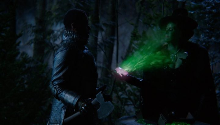 Once Upon a Time 6x18 Where Bluebirds Fly - Stanum with Zelena holding the crimson heart