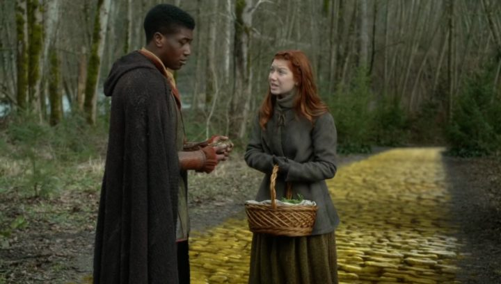 Once Upon a Time 6x18 Where Bluebirds Fly - Young Zelena and Young Stanum in Oz