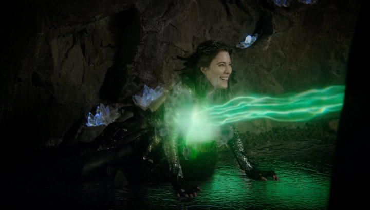 Once Upon a Time 6x18 Where Bluebirds Fly - Zelena attacks the Black Fairy
