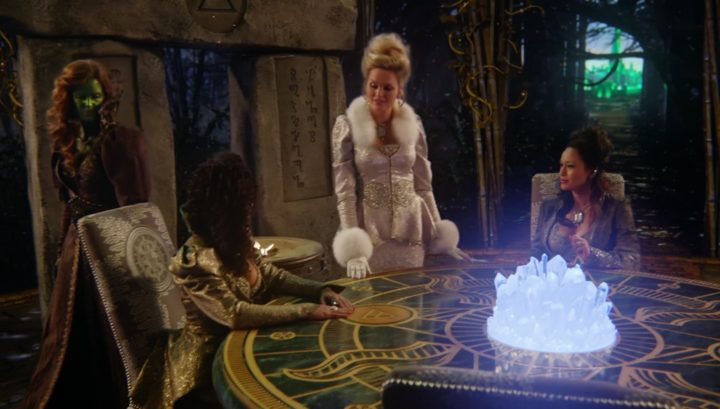 Once Upon a Time 6x18 Where Bluebirds Fly - Zelena with Glinda and witches of Oz from 3x20 Kansas