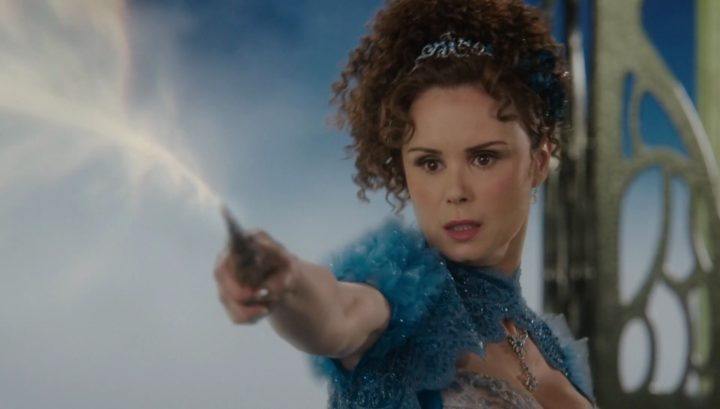 Once Upon a Time 6x19 The Black Fairy - Blue Fairy banishes Black Fairy into the Dark Realm