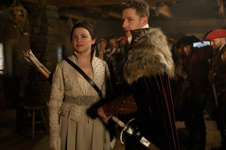 Once Upon a Time podcast 6x20 The Song in Your Heart - Snow White and Prince Charming in the tavern in the Enchanted Forest