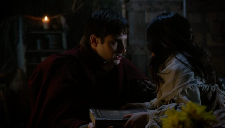 Once Upon a Time 6x21 6x22 The Final Battle - Adult Henry and Lucy in the Enchanted Forest