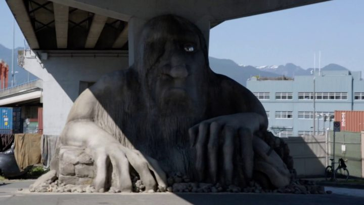 Once Upon a Time 7x01 Hyperion Heights - Giant troll under the bridge