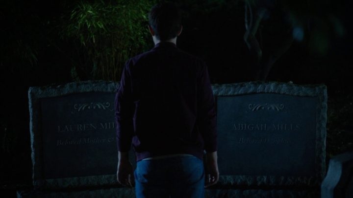 Once Upon a Time 7x03 The Garden of Forking Paths - Lauren Mills Abigail Mills grave