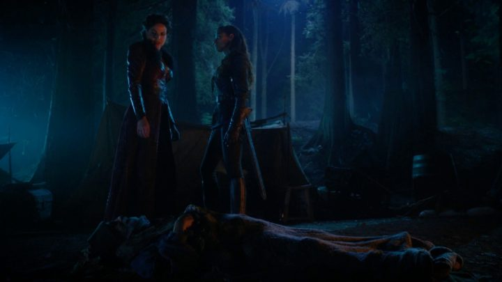 Once Upon a Time 7x03 The Garden of Forking Paths - Regina stopping Cinderella from taking man's heart