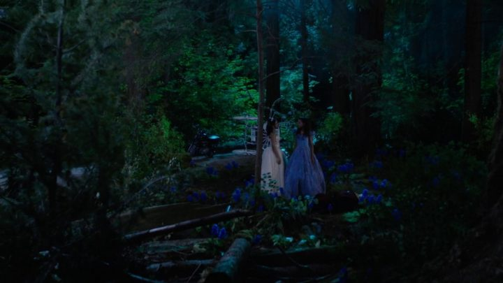 Once Upon a Time 7x03 The Garden of Forking Paths - Tiana and Cinderella meets for the first time