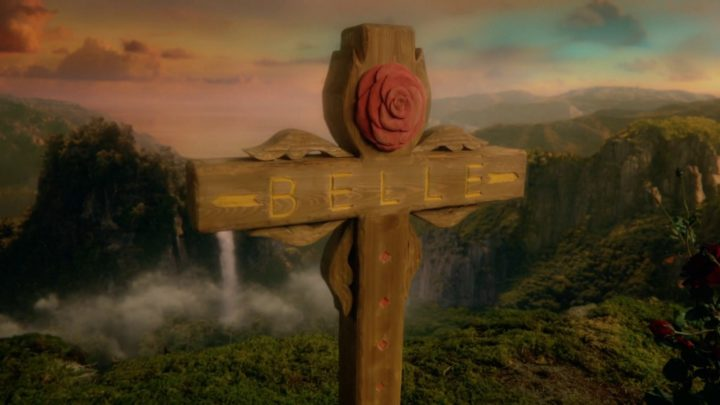 Once Upon a Time 7x04 Beauty - Belle grave