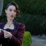 Once Upon a Time podcast 7x05 Greenbacks - Drizella at auction holding tiara at auction
