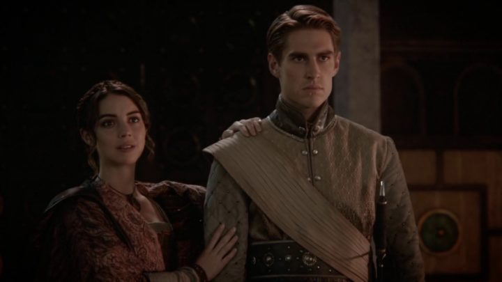 Once Upon a Time 7x06 Wake Up Call - Drizella with Prince Gregor