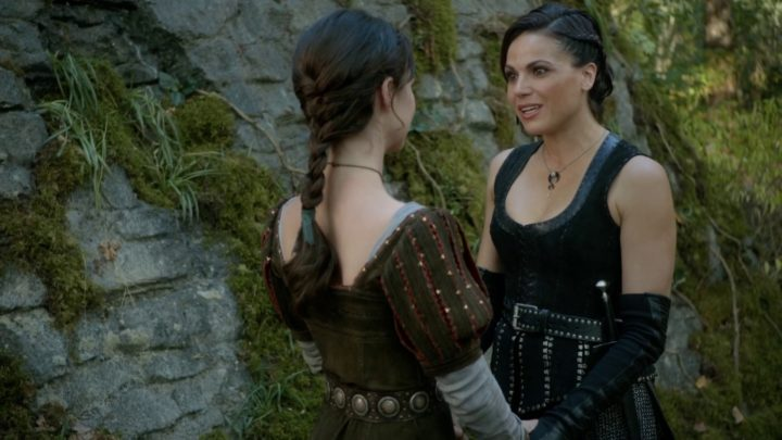 Once Upon a Time podcast 7x06 Wake Up Call - Regina and Drizella talking after Drizella saves her