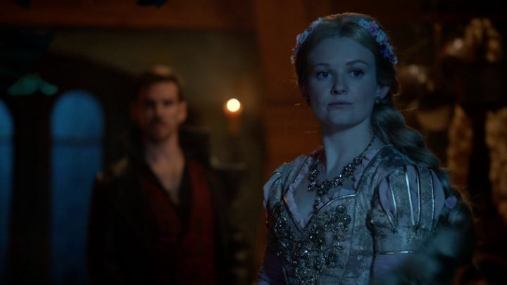 Once Upon a Time 7x07 Eloise Gardener - Trapped Rapunzel in the tower with Captain Hook