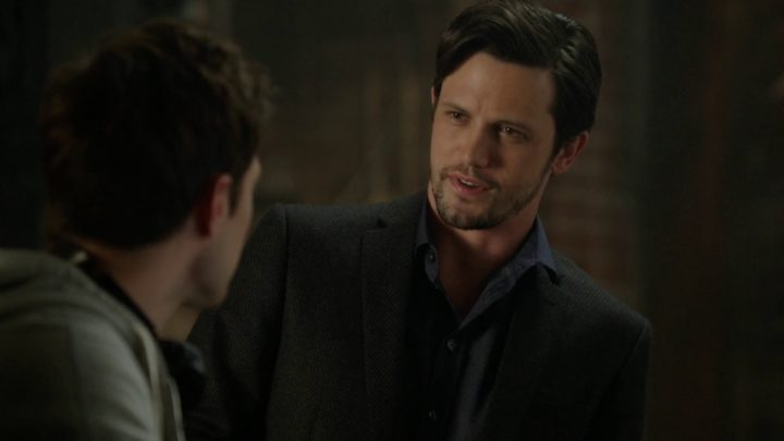 Once Upon a Time 7x08 Pretty in Blue - Nick and Henry talking about Bizarre Love Triangle