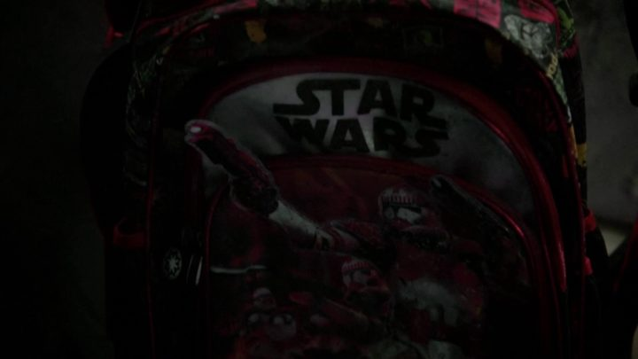 Once Upon a Time 7x08 Pretty in Blue - Star Wars backpack
