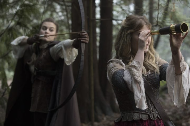 Once Upon a Time 7x14 The Girl in the Tower - Robin finds Alice in the woods