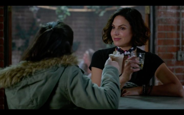 Once Upon a Time 7x15 Sisterhood - Regina talking to Lucy about Operation Bromance