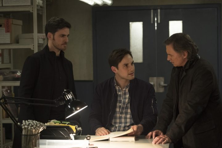Once Upon a Time podcast 7x16 Breadcrumbs - Henry with Rogers and Weaver talking about the Candy Killer