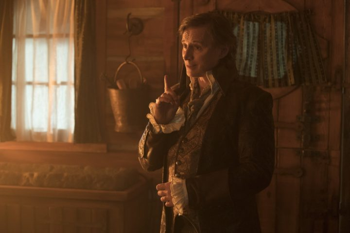Once Upon a Time podcast 7x18 The Guardian - Rumplestiltskin visits Alice in the Enchanted Forest 2.0