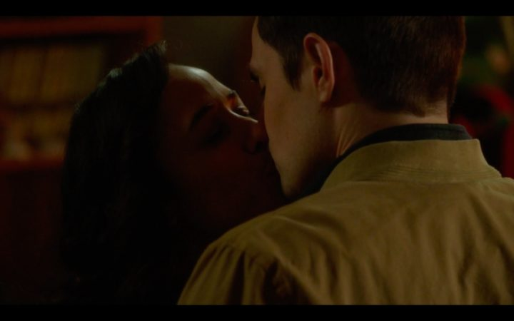 Once Upon a Time 7x19 Flower Child - Henry and Jacinda kiss