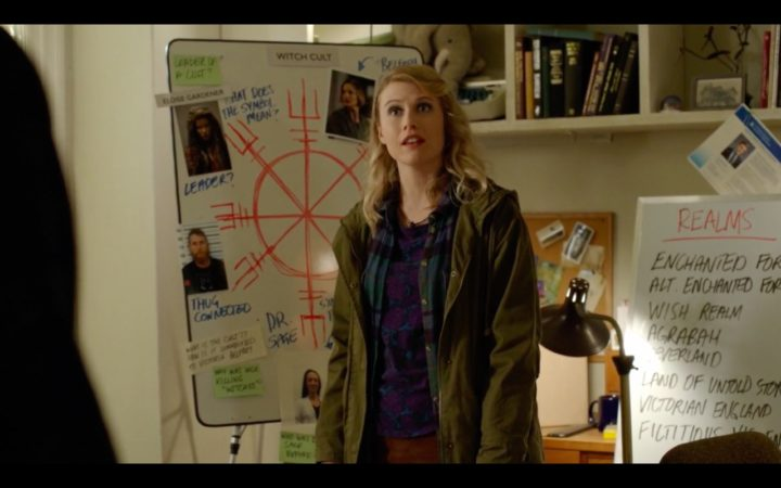 Once Upon a Time 7x19 Flower Child - List of realms in Henry's investigation board