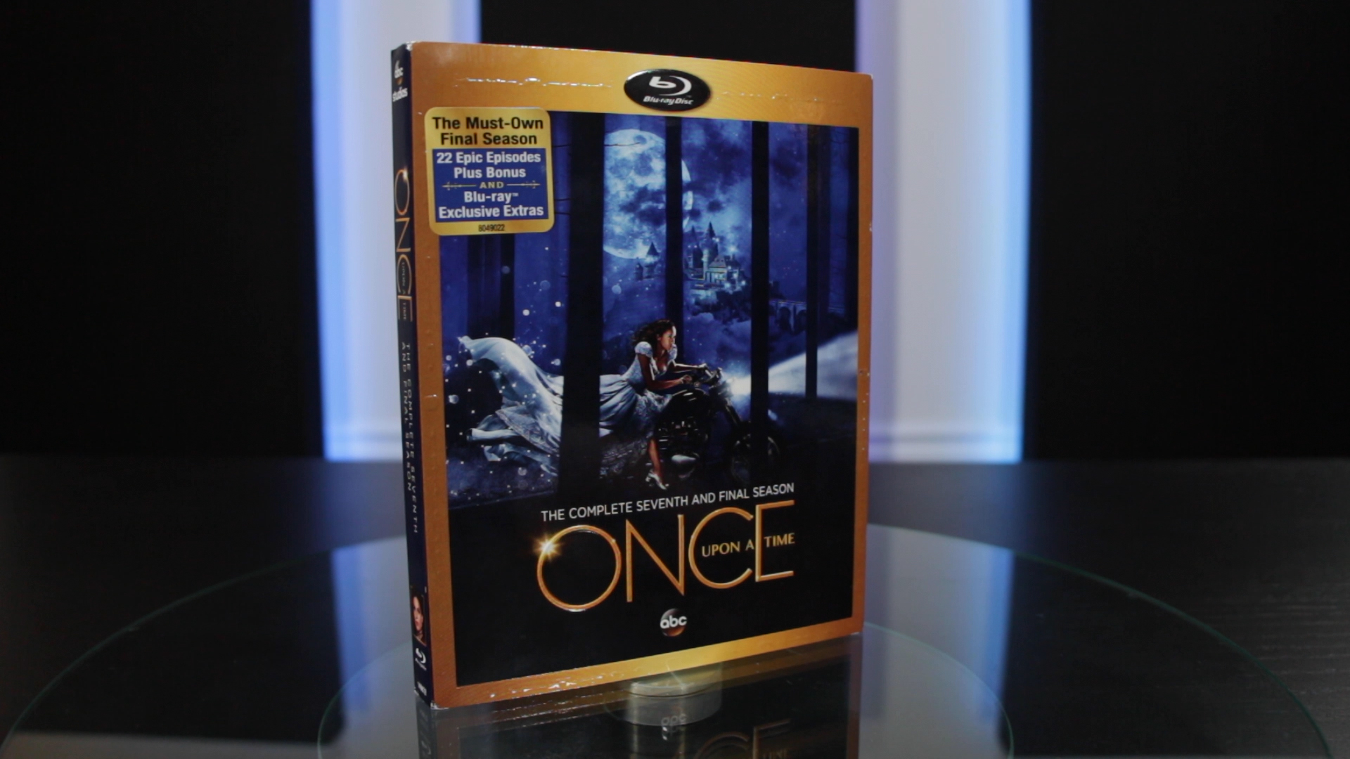 See what's inside the complete seventh and final season #OnceUponaTime Blu-Ray and DVD!